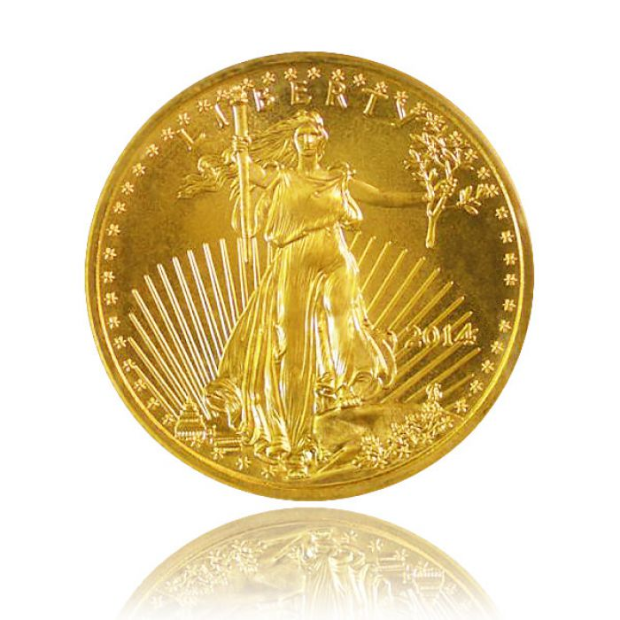 Eagle (10 dollars US) revers
