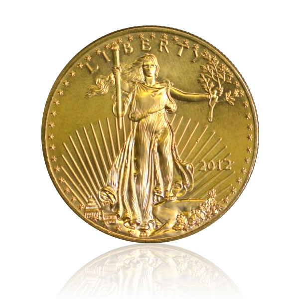 Eagle (50 dollars US) revers